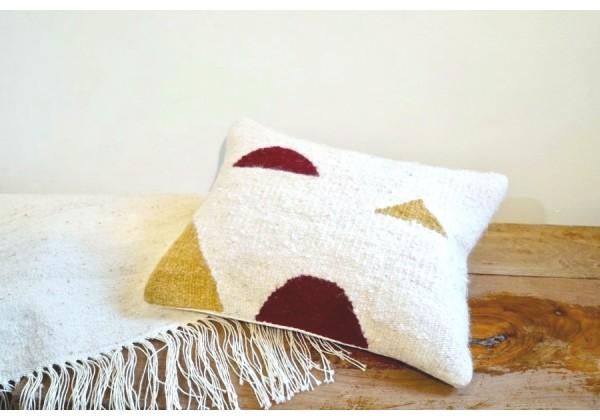 Woven Woolen Cushion