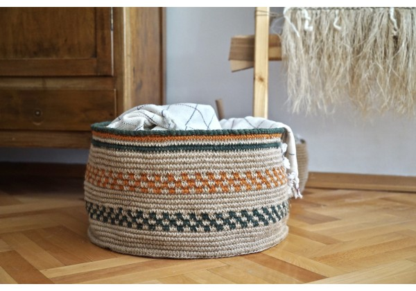 Decorative Jüt Basket (Big Size)