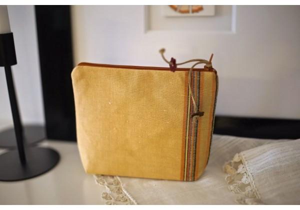 Turkmen Cloth Cosmetic Bag