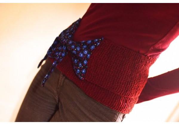 Woolen Belts - Red