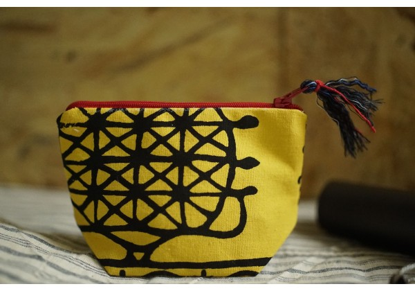 Authentic Pouch Bag / Tokat  Bag (Yellow)