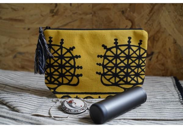 Authentic Pouch Bag / Tokat  Bag (Yellow)