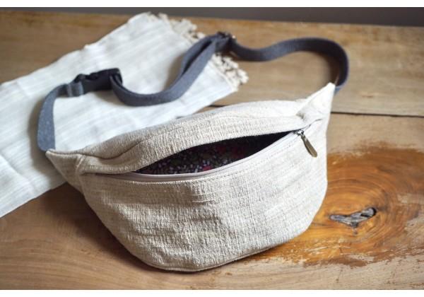 Waist bag (linen)