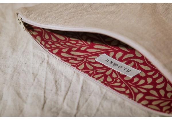Linen Cosmetic Bag (big)