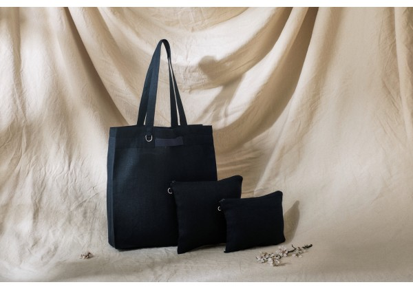 Linen Cosmetic Bag (medium)