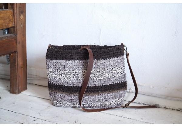 Textile Shoulder Bag