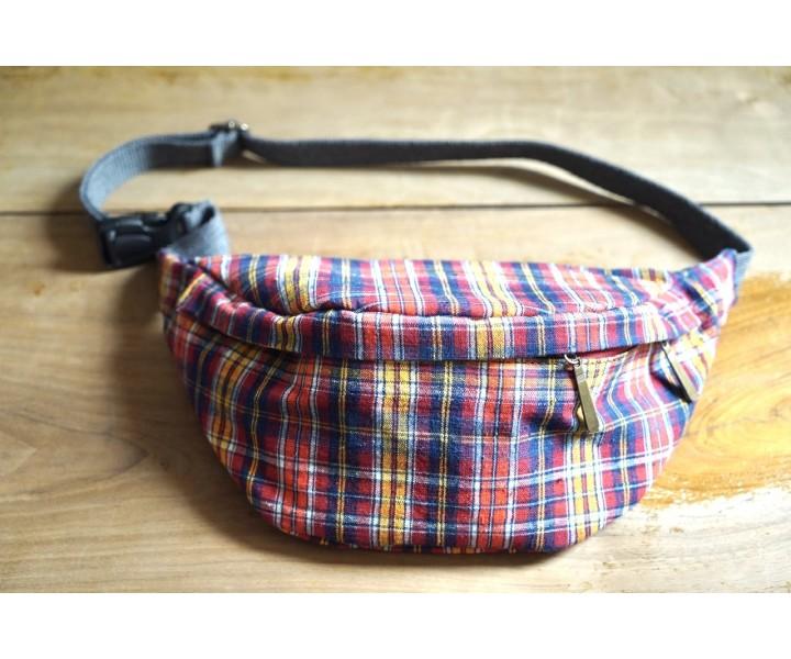 Waist bag (vintage cotton)