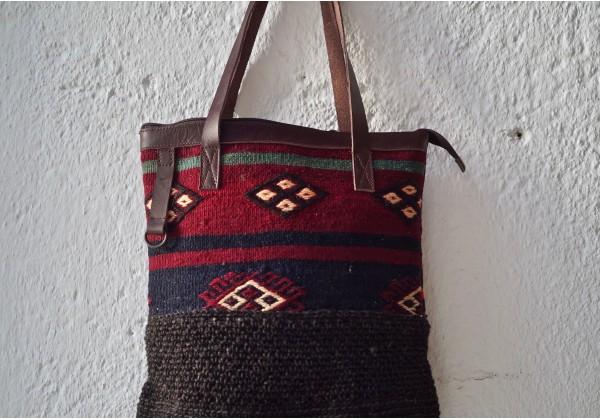 Etnic Kilim-Hemp Bag