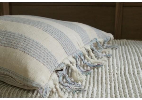 Handwoven Pestemal Cushion