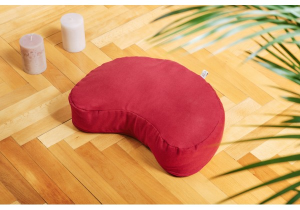 Yoga Meditation Cushion - Half Moon